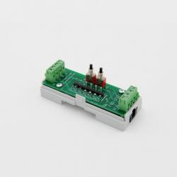 EUTONOMY D212 - Adaptador de euFIX en CARRIL DIN módulo de Fibaro FGD-212 con botones