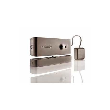 Somfy Protexial 1875059 - Détecteur ouverture bris de vitre marron