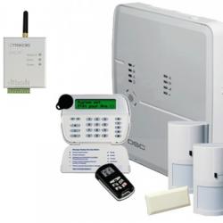 Alarme DSC ALEXOR - Pack alarme DSC GSM connectée