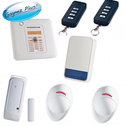 Visonic - Pack alarme maison PowerMaster 10 avec sirène extérieure