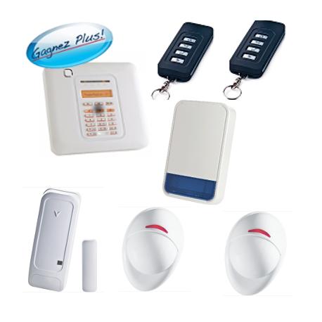 Visonic powermaster pack alarme maison powermaster 10 - Alarme maison sirene exterieure ...