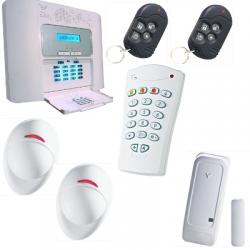 Pack alarm home F1 / F2 - PowerMaster 30 Visonic