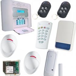 Pack alarme sans fil PowerMaster 30 NFA2P GSM sirène extérieure Visonic