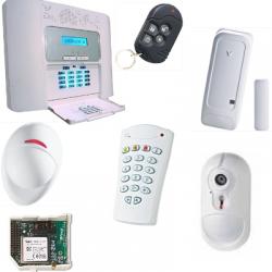 Visonic Alarme NFA2P - Pack alarme PowerMaster 30 GSM caméra