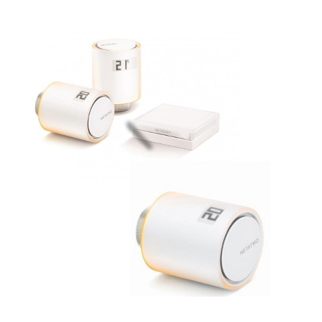 NETATMO - Kit de démarrage vannes connectées pour radiateurs