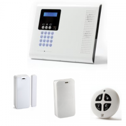 Pack alarm - Pack alarmanlage Iconnect PSTN / IP-wohnung typ F1 / F2