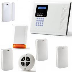 Alarme maison sans fil - Pack Iconnect IP / GSM F3 / F4 avec sirène
