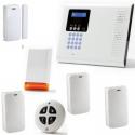 Alarme maison sans fil - Pack Iconnect IP / GSM sirène flash
