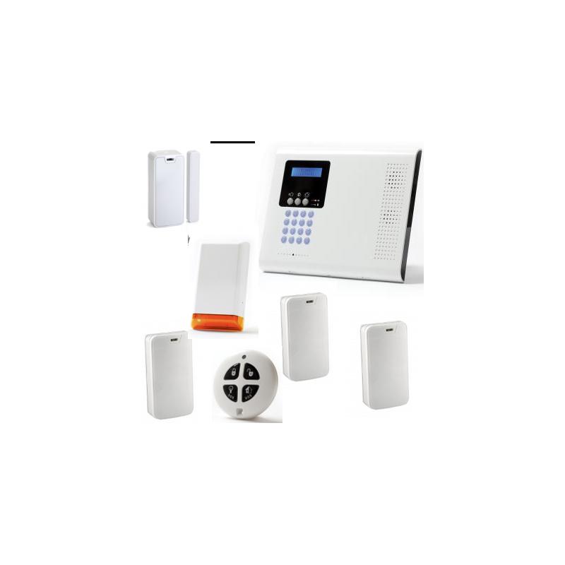 Allarme casa wireless pack iconnect ip gsm sirena strobo - Allarme casa wireless ...