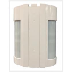 Accesorios optex VX-180-ST - alarma del Detector de cable doble fuera de 12X12M