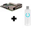 Raspberry Pi 3 Z-Stick Aeotec ZW090 Z-Wave PLus