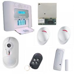 Visonic Alarme NFA2P - Pack alarme PowerMaster 30 IP avec détecteur caméra