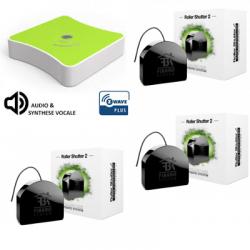 Eedomus Plus Fibaro FGR-222 - Eedomus Plus Pack automatisme