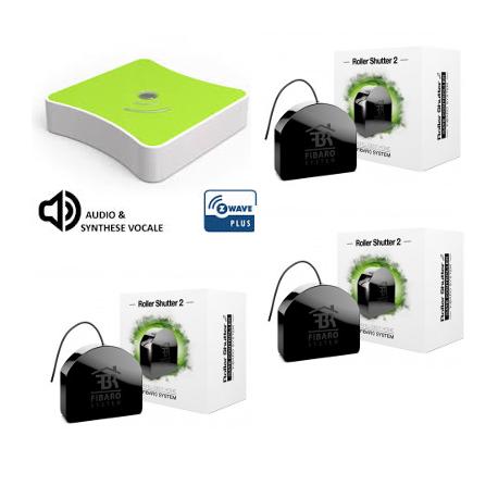 Pack domotique éclairage variateur Eedomus Plus - Everspring AD146