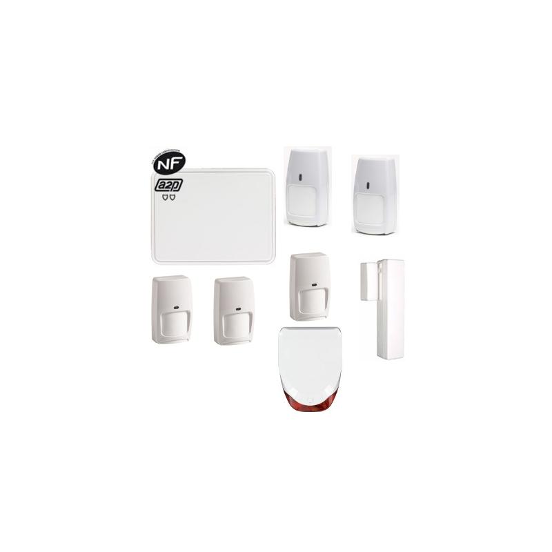 total connect alarme maison connect e gsm ip nfa2p. Black Bedroom Furniture Sets. Home Design Ideas