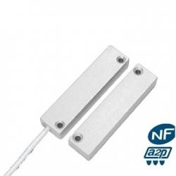 Alarma del detector de apertura de la alu NFA2P con cable