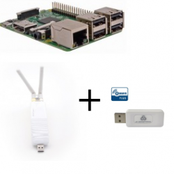 Raspberry Pi3 RfPlayer dongle Z-Wave Plus SA413