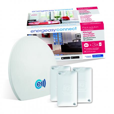 Energeasy Connect - Pack chauffage électrique IO fils pilotes