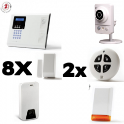 Alarm connected home Iconnect IP / GSM