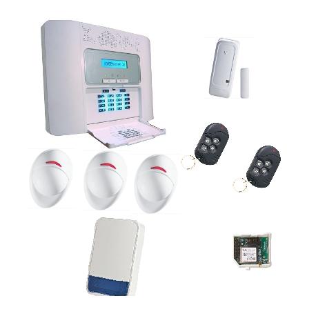 PowerMaster 30 - pack alarme Visonic GSM NFA2P