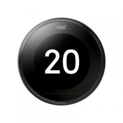NEST - Smart Thermostat 3rd generation black