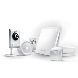 Tahoma Serenity Essential Vidéo - Somfy pack alarme connectée avec caméra