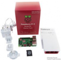 Kit de démarrage Raspberry Pi 3 Modèle B+, Boîtier officiel et alimentation