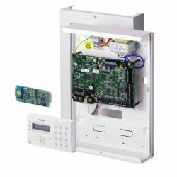 Alarme Vanderbilt 8/32 zones serveur WEB intégré RTC / GSM et clavier lecteur de badge