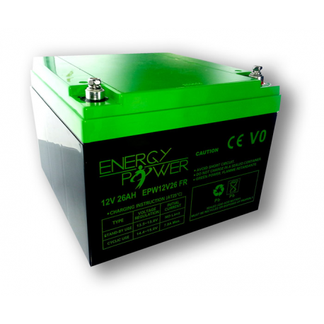 Energy Power batterie 12V 26Ah