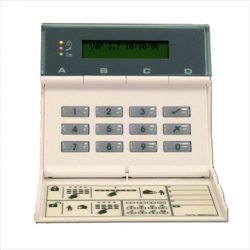 Cooper clavier LCD filaire pour centrale alarme 9752