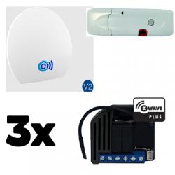 Energeasy Connect pack rollläden Z-Wave Plus