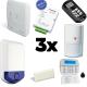 Alarm DSC ALEXOR - Für wohnung typ F3 mit GSM