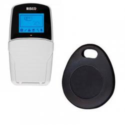 Risco LightSYS RP432KPP - Teclado LCD, lector de placas de identificación