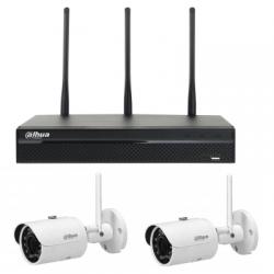 Dahua NVR4104HS-W-S2 - Grabador de vídeo digital WIFI de vigilancia de vídeo de 4 canales