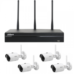 Dahua pack video surveillance WIFI 4 cameras 2MP