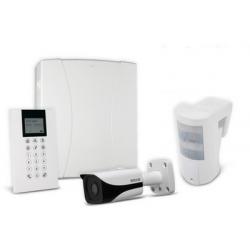 Risco LightSYS - Centrale alarme filaire connectée avec clavier et caméra
