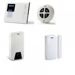 Iconnect - Alarm house - Pack Iconnect IP / GSM detector camera