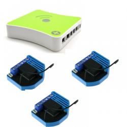 Eedomus Plus - Pack de automatización Qubino ZMNHCD1