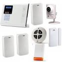 Alarme Electronics Line - Pack Iconnect IP / GSM sirène flash et caméra