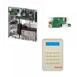 Centrale alarme Galaxy Flex 20 - Centrale alarme Honeywell 20 zones avec clavier MK8