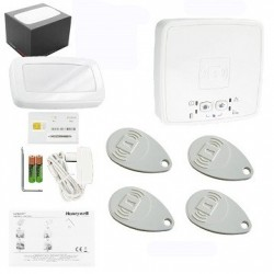 Alarma EL AZÚCAR HONEYWELL inalámbrica con comunicador GSM