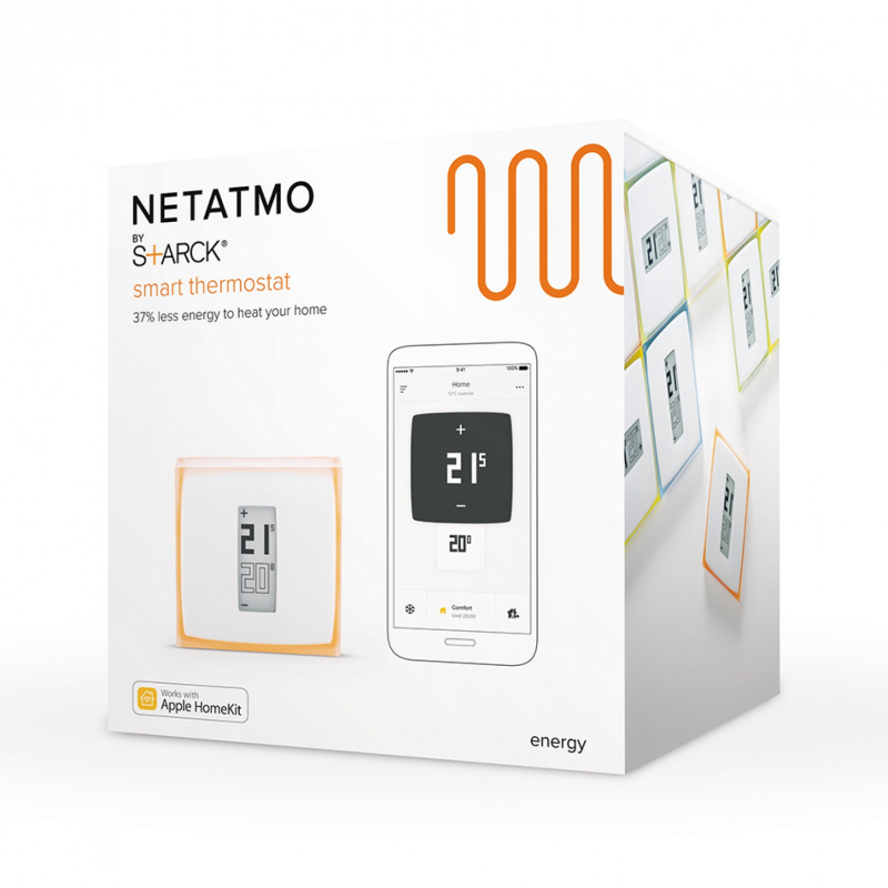 Netatmo Thermostat Nth01 Fr Ec Thermostat Connect 233 Netatmo