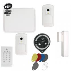 Total de conexión de la Alarma de la casa conectado a la red GSM/IP NFA2P
