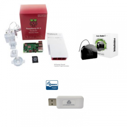Starter Kit Raspberry Pi 3 Model B+, Enclosure, and in the official feed