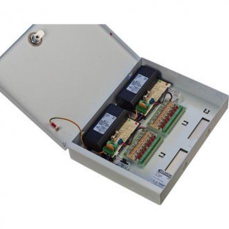 Elmdene VRS128000-8-T - Alimentation 12VDC 8A 8 SORTIES