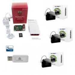 Jeedom pack persianas - Pack Raspberry Pi 3 Z-Wave Más módulos de los RGF-222