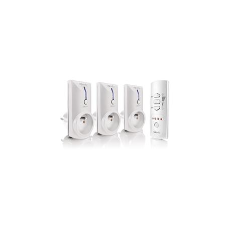 Somfy 2401365 - Pack 3 prises télécommandées on / off