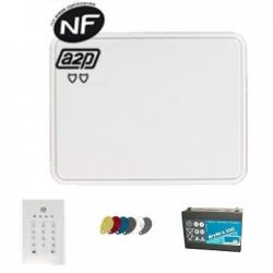 Totaal Connect - Alarm huis is aangesloten op het GSM/IP NFA2P