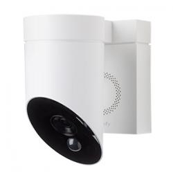 Somfy caméra de surveillance extérieure blanche