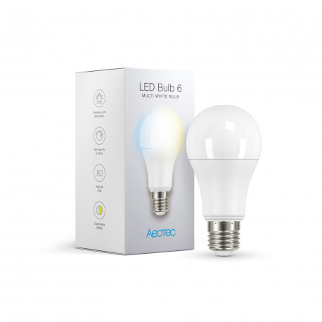 AEOTEC ZWA001 - Ampoule LED blanche Z-Wave PLus